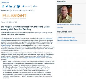 dentist in los angeles,sedation dentistry,types of sedation dentistry,sedation dentistry side effects, dr michael fulbright