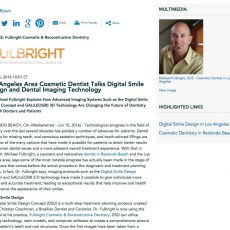 Dr. Michael Fulbright discusses Digital Smile Design and new dental technologies.